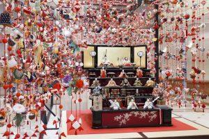Hina-Matsuri Girls' Doll Festival Art Exhibition Hosted by Keio Plaza Hotel, Tokyo, Japan
