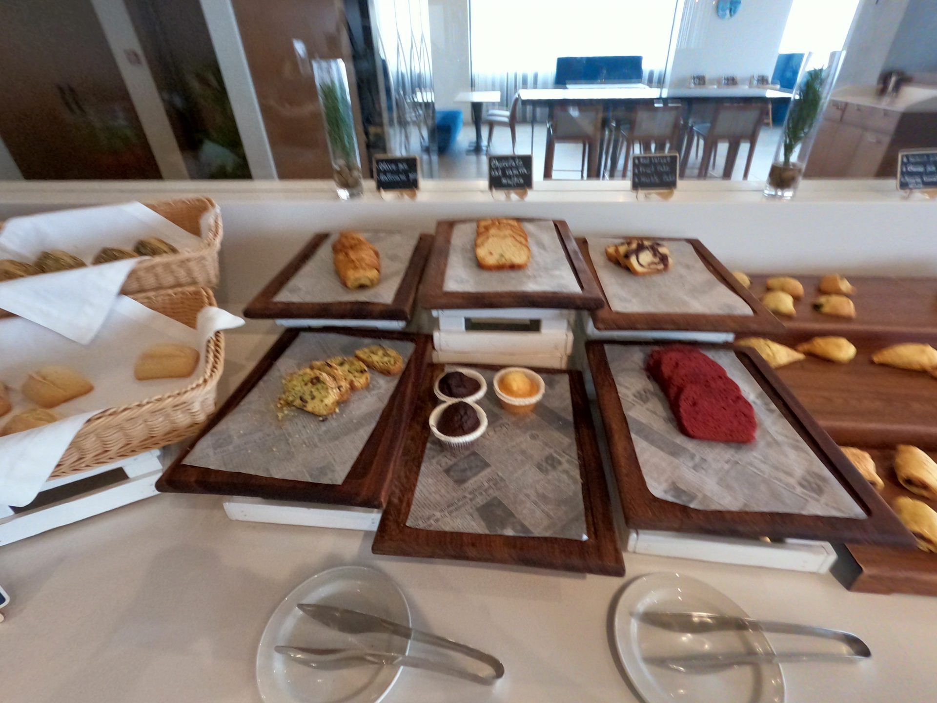 All types of pastries