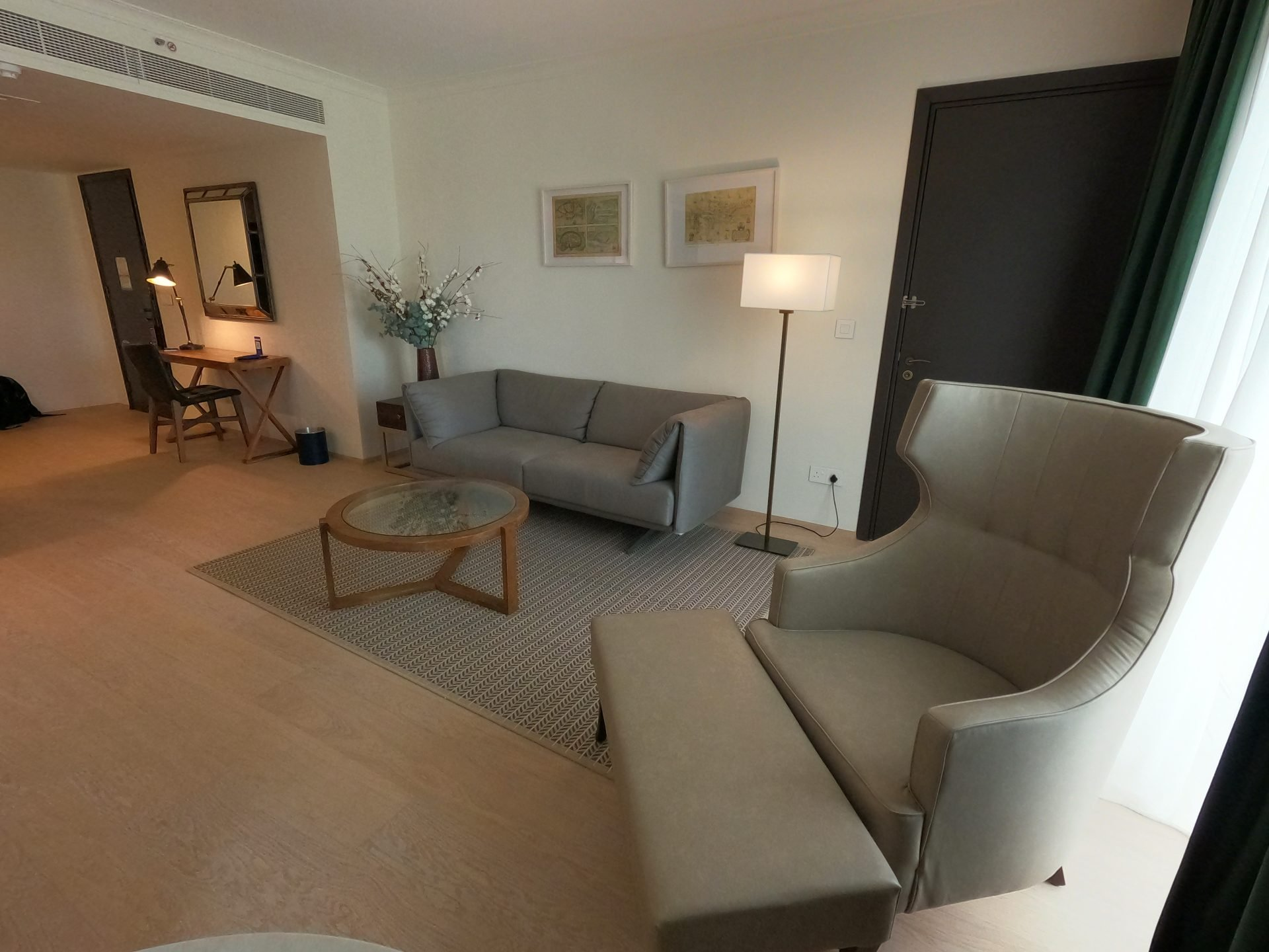 King One Bedroom Suite at Hilton Nicosia, Cyprus
