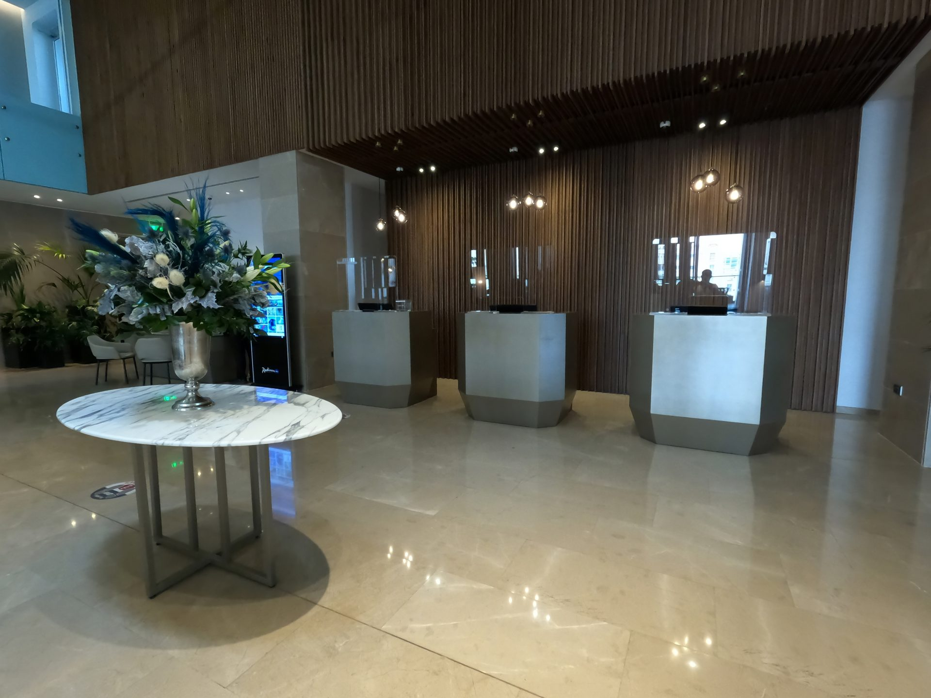 Radisson Blu Hotel, Larnaca Review - Reception Area
