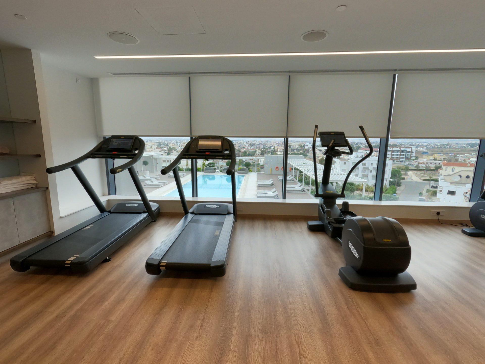 Professional TechnoGym treadmills