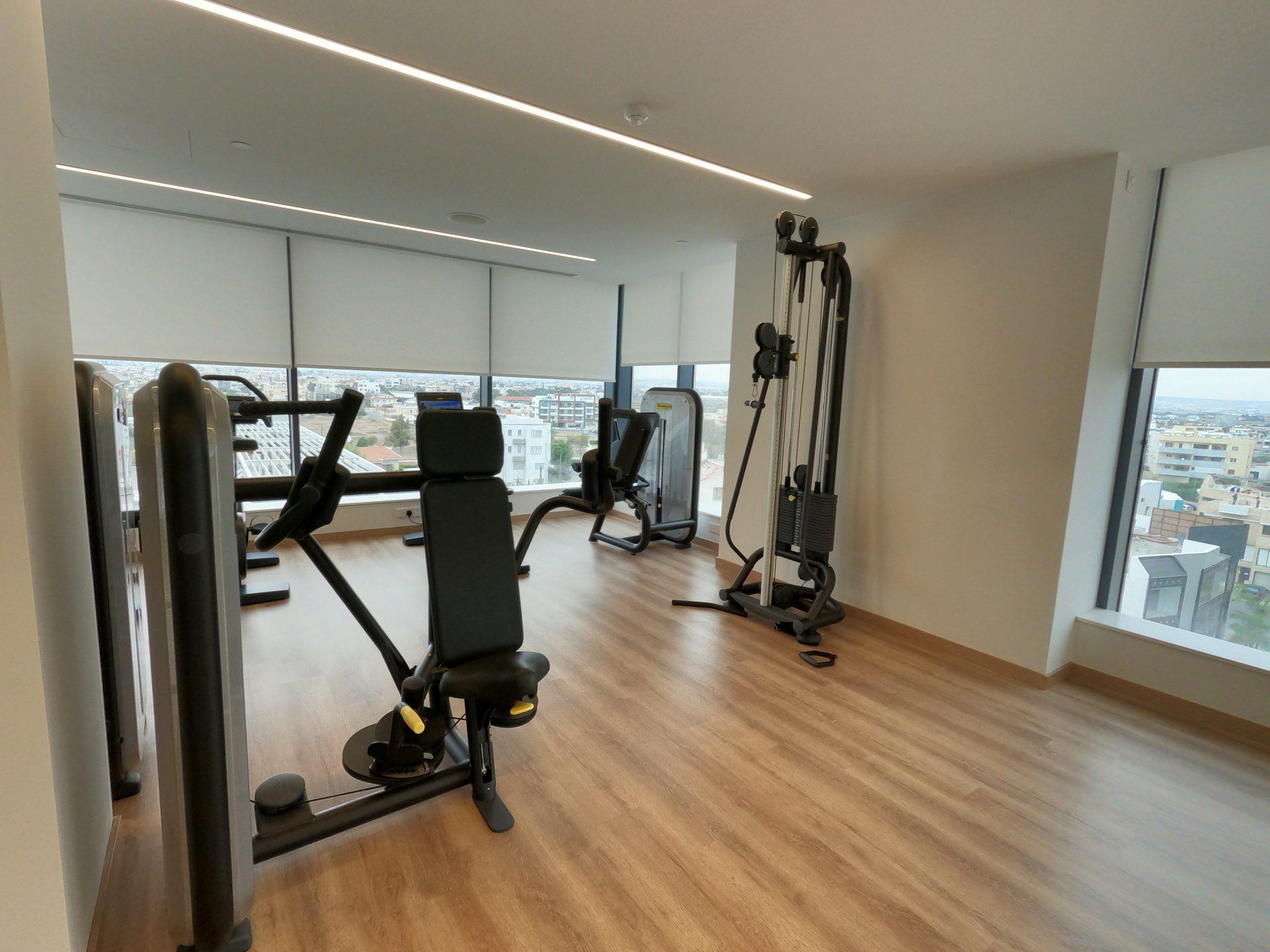 Spa, Gym & Wellness Center at Radisson Blu Hotel, Larnaca, Cyprus