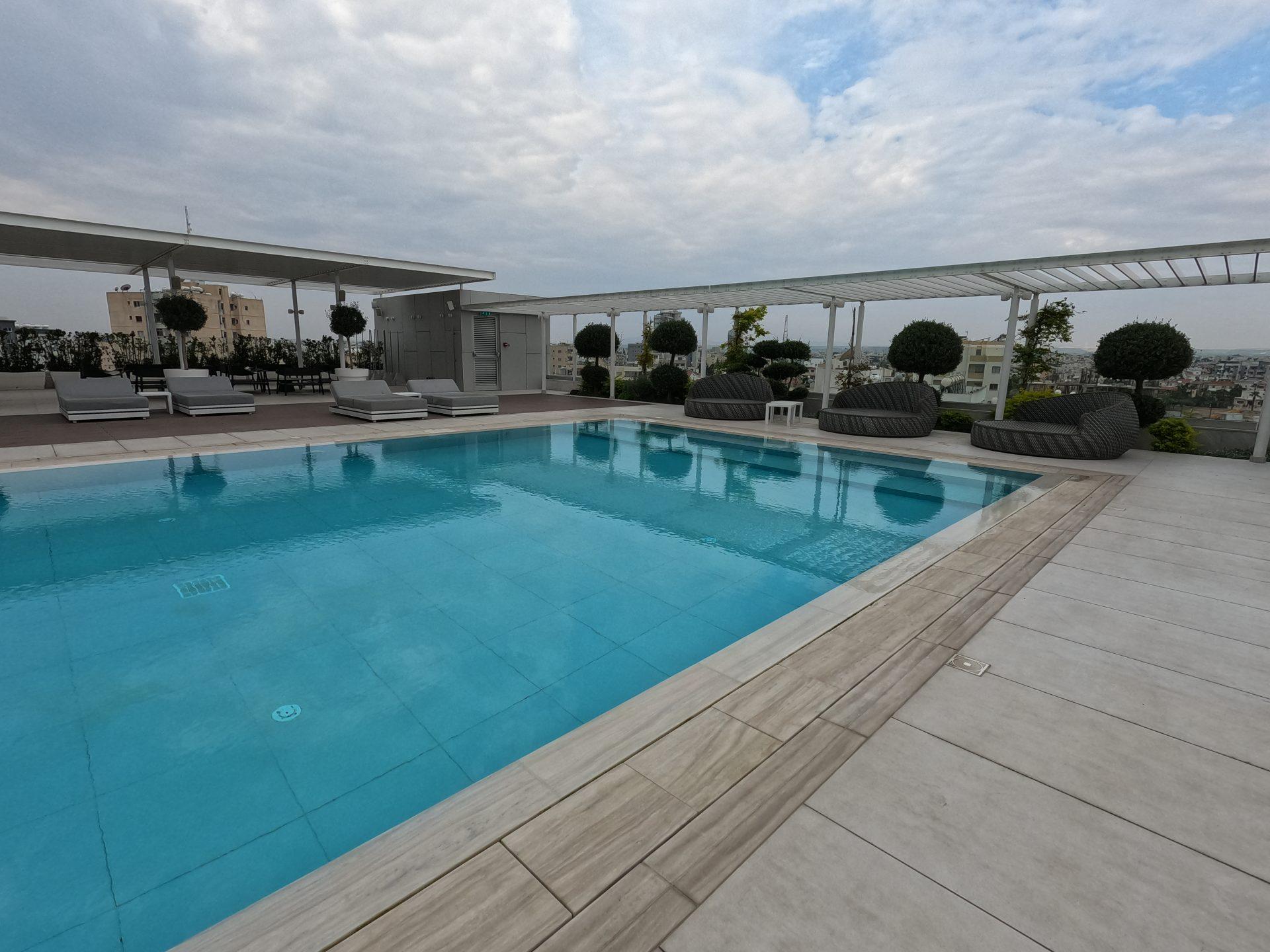 The Outdoor Swimming Pool At Radisson Blu, Larnaca